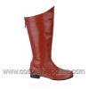 HERO-100 Red Faux Leather